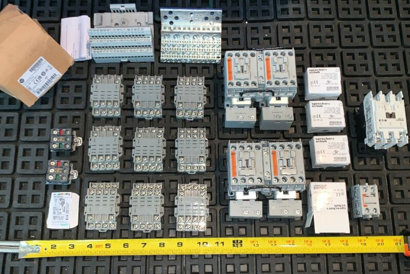 *HUGE MIX LOT* Sprecher + Schuh CA7-12E-10 Contactor 12A 120V Coil Allen Bradley