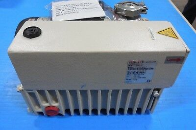 Refurbished Pfeiffer Uno 20 Rotary Vane Vacuum Pump 1hp 15 Cfm 3 Phase 460v 3f