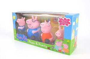 New Version Peppa Pig George Mummy Daddy Peppa Family Figures Dolls Toys
