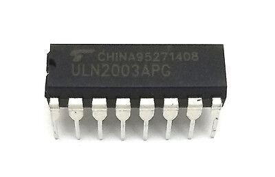 2pcs Toshiba Uln2003apg Uln2003 Darlington Transistor Array 7-channels New Ic