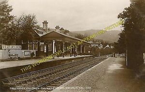 Crianlarich Lower Railway Station Photo. Luib - Tyndrum. Killin to Dalmally Line