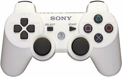 Original Sony Wireless PS3 Controller PlayStation3 DualShock3 Gamepad White CLR.