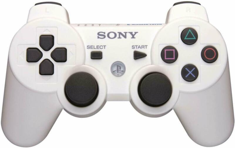 Original Sony Wireless PS3 Controller PlayStation3 DualShock3 Gamepad White CLR.