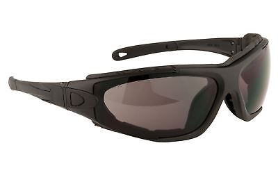 Portwest Levo Safety Spectacle Glasses EN166 Safety Workwear, Smoke, PW11, used for sale  Shipping to South Africa