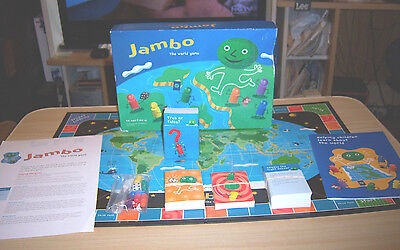 Jambo The World Game   Helping Children Learn About The World   Ceridian 2002