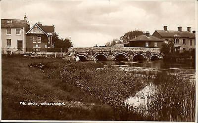 Christchurch. The Bridge.