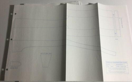 mandolin stringed instrument blueprint construction plans