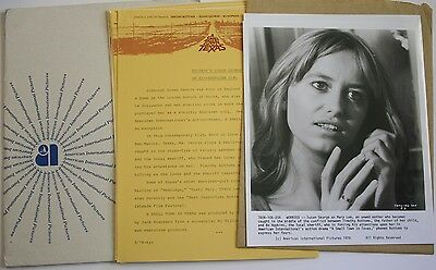 "1976 ""A Small Town In Texas"" Press Kit w/4 Photos Susan George Timothy Bottoms"