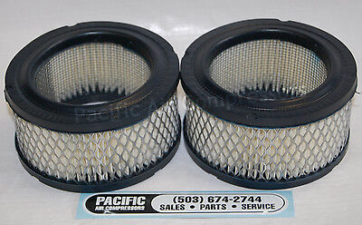 2 pack air filter intake elements 32170979