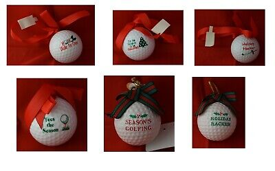 Golf Ball Ornaments (Golf Ball Ornaments in 6)