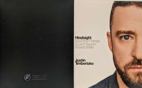 "JUSTIN TIMBERLAKE Signed Autograph 1st Ed Book ""Hindsight"" JSA"
