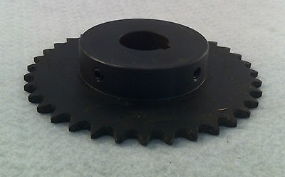 41 Chain 36 Tooth 1 1/4 Bore Sprocket Part 41b36-1-1/4, Keyway 1/4 Ohd Parts