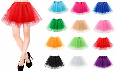 Ladies Women Adult Tutu Skirts Ballet Princess Fancy Dress Pettiskirt Costume](Adult Costume Tutu)