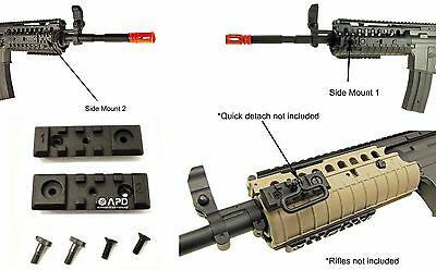 2 x JG Metal RIS Rail Integrated System M4 S Mount Attachment AEG Airsoft 2.5 -