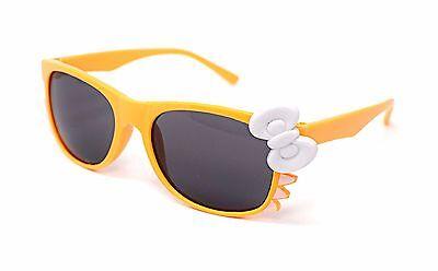 Orange Katze + Schleife Style Kinder-Kostüm Brillen Perfekt für Partys Hüfthose (Orange Katze Kostüm Kind)