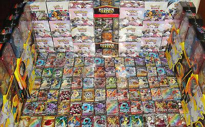 Pokemon 100 Card Lot GUARANTEED 2 V or Vmax & 1 Pack : Sword Shield Ultra Secret