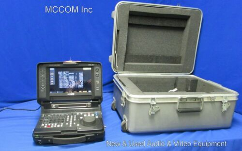 Sony PDW-HR1 XDCAM HD CineAlta Recorder w/ 1062 Laser hrs, case