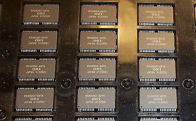 Qty 16 Msm548262-60tk Oki Tssop-4044 2meg Multiport Dram Nos