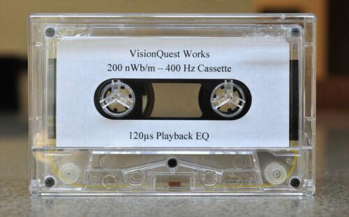 Playback Level Calibration Audio Cassette
