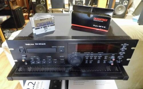 Tascam DA-30 MKII Professional DAT Recorder New Belts Fully Tested!
