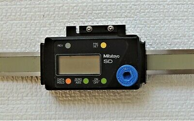 Mitutoyo Linear Scale Model Sd-45b Digital Metric Mm Only