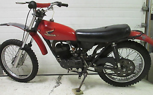 1974 Honda MT125 Elsinore
