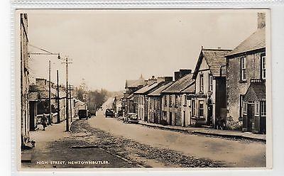 HIGH STREET, NEWTOWNBUTLER: Co Fermanagh postcard (C19593)