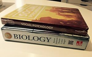 Biology and social psychology books