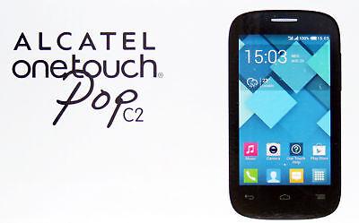 Alcatel onetouch Pop C2 Weiß Schwarz Android Smartphone Dual Sim NEU Händler