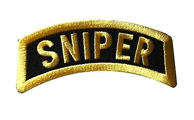 Kids Sniper Costume (Sniper Iron On Patch Cosplay Costume Biker Patch)