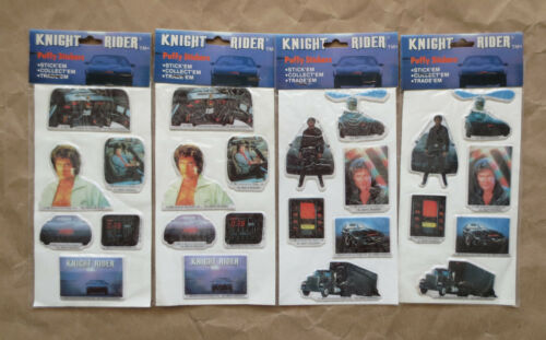 Vintage Knight Rider Stickers David Hasselhoff KITT