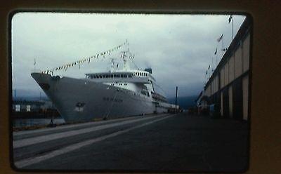LOT ALASKA #6 SUN PRINCESS CRUISE SHIP GLACIER BAY SLIDES BOAT TOTEM MCKINLEY