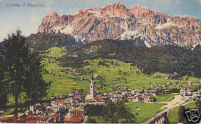Panorama Generale di Cortina d'Ampezzo f.p.