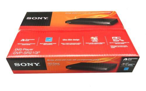 Sony Progressive Scan CD and DVD Player Brand New in Black | DVP-SR210P