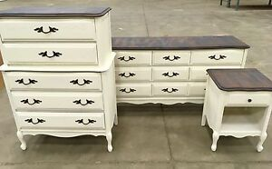 Baronet French Provincial 9 drawer/Tallboy/End Table (PENDING)