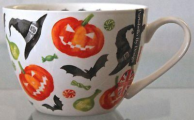 PORTOBELLO BY DESIGN HAPPY HALLOWEEN CUP MUG COFFEE TEA SOUP ENGLAND NEW
