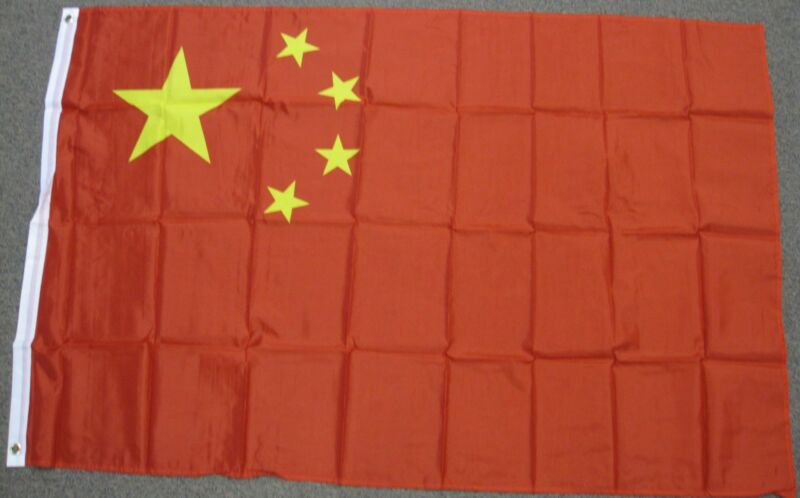 3X5 CHINA FLAG CHINESE FLAGS ASIA ASIAN NEW BANNER F083