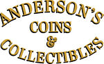 Andersons Coins and Collectibles