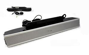 Dell AS501 Multimedia Speaker Sound Bar Stereo for Monitor 1505FP 1704FP 1707FP