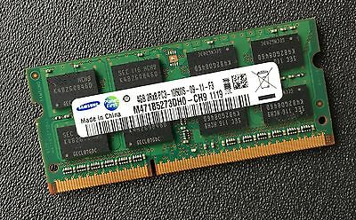 Samsung 4GB 2Rx8 PC3-10600S DDR3-1333MHz Laptop Memory M471B5273DH0