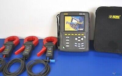 Aemc 3945 Powerpad Three Phase Power Quality Analyzer Pqa - Nist Calibrated
