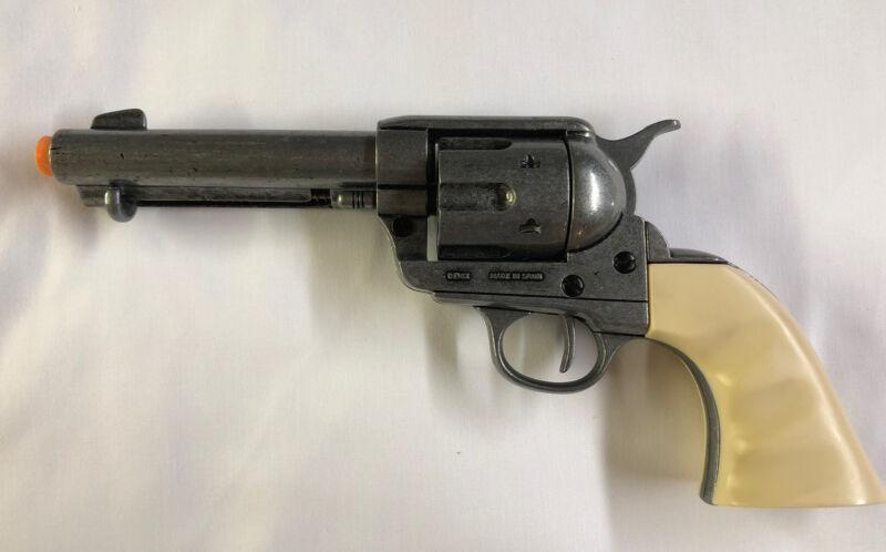 Denix Western M1873 Non-Firing Replica Revolver - Ivory Finger Groove Grips