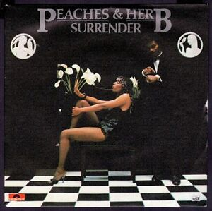 PEACHES-HERB-SPAIN-7-POLYDOR-1980-SURRENDER-LOVEY-DOVEY-SINGLE-45-RPM