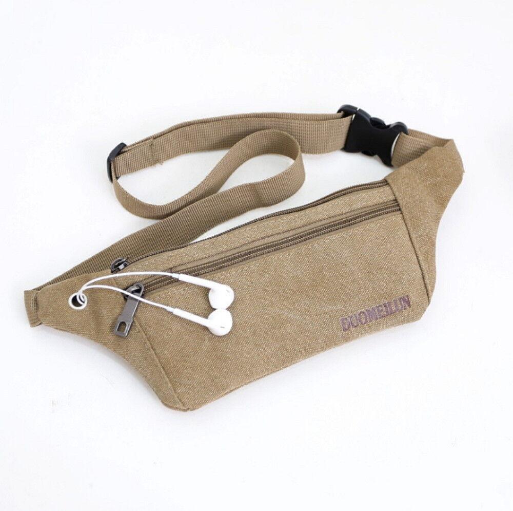 Running Belt Bum Waist Pouch Fanny Pack Camping Sport Hiking Zip Bags Bags
