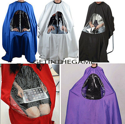 Hair Cutting Cape Salon Hairdressing Hairdresser VIEWING WINDOW Barber Cloth  ()
