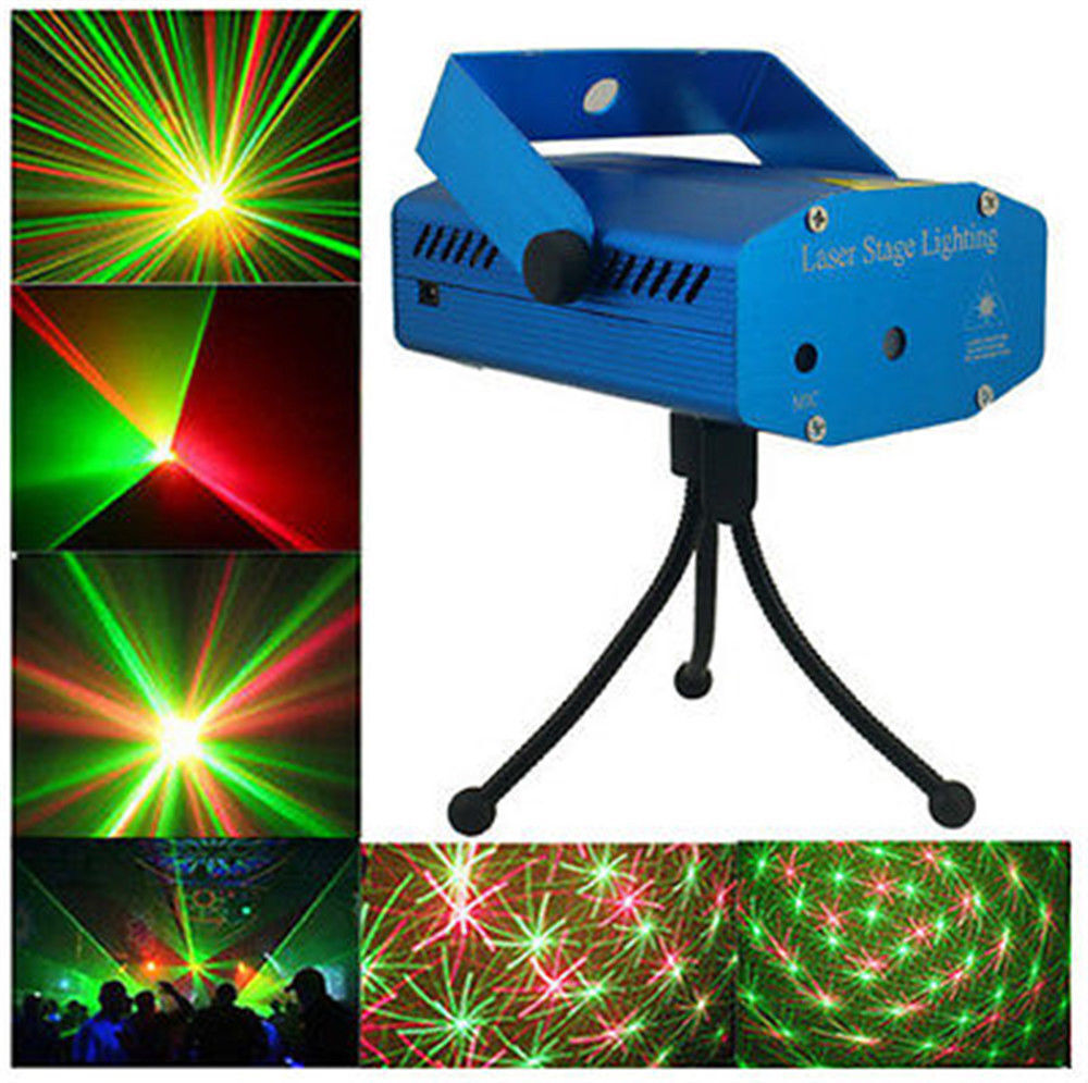 Mini Red/Green Laser Stage Lighting Lights Projector for Disco DJ KTV Club Party
