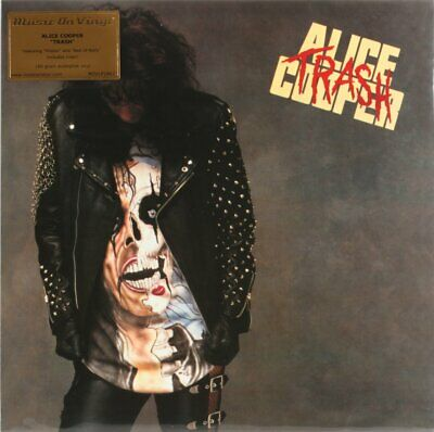 Alice Cooper, Trash Vinyl Record/LP *NEW*