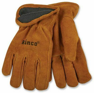 Kinco 50rl Work Glove Multi-purpose Lined Construction Cold Weather Warm Cowhide