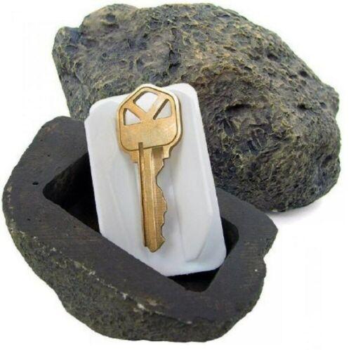 Outdoor ROCK HIDE A KEY HOUSE HOME Emergency Spare Key Car Holder Hider Safe