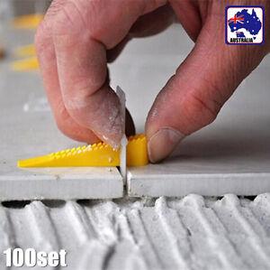 100Set Tile Leveling System Professional Level Floor Wall Tool TXTIL 1180 x100